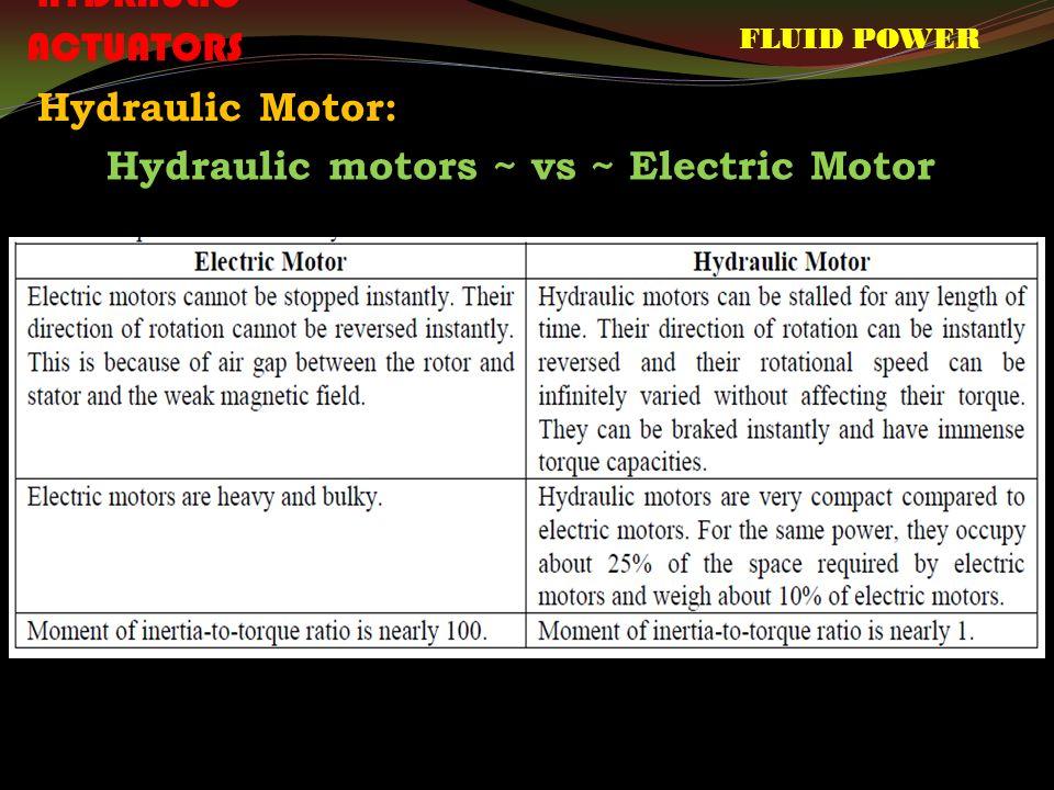 FLUID POWER CONTROL ME604C  FLUID POWER Sources of Hydraulic