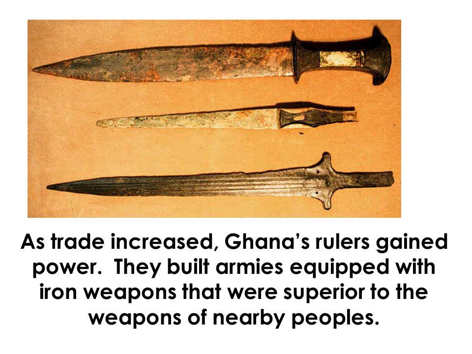 ghana weapons