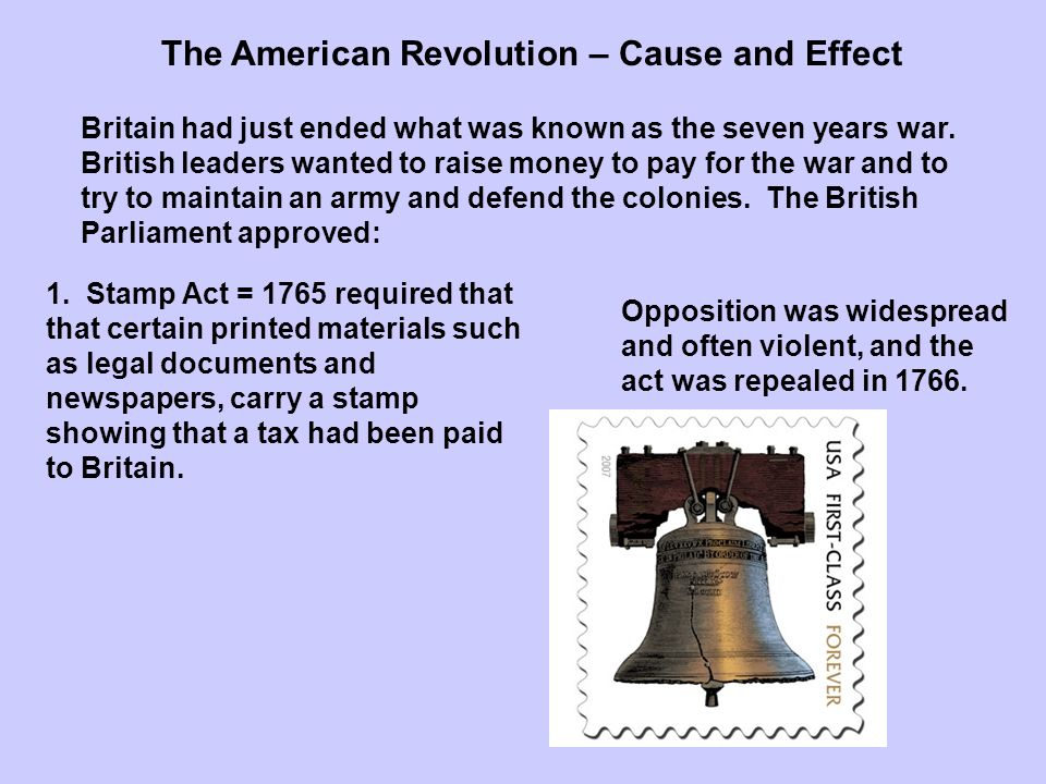 an overview of the american revolution and its effects The american revolution drastically changed the lives of many it positively affected women and the effect that the american revolution made on the nation though was determined by how since then america has gained its freedom from england, experienced civil war, abolished slavery, fought.