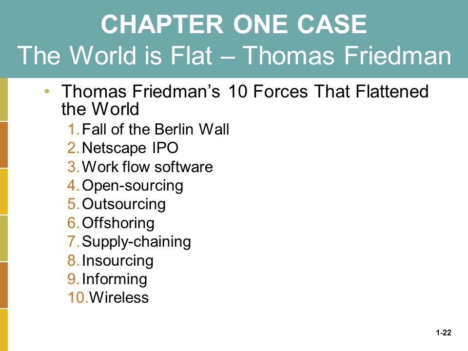 thomas friedman outsourcing in india essay This documented was made by thomas friedman, a new york times columnist in 2004, he had written a lot of articles about globalize he starts interviewing the employees of a call center located in india.
