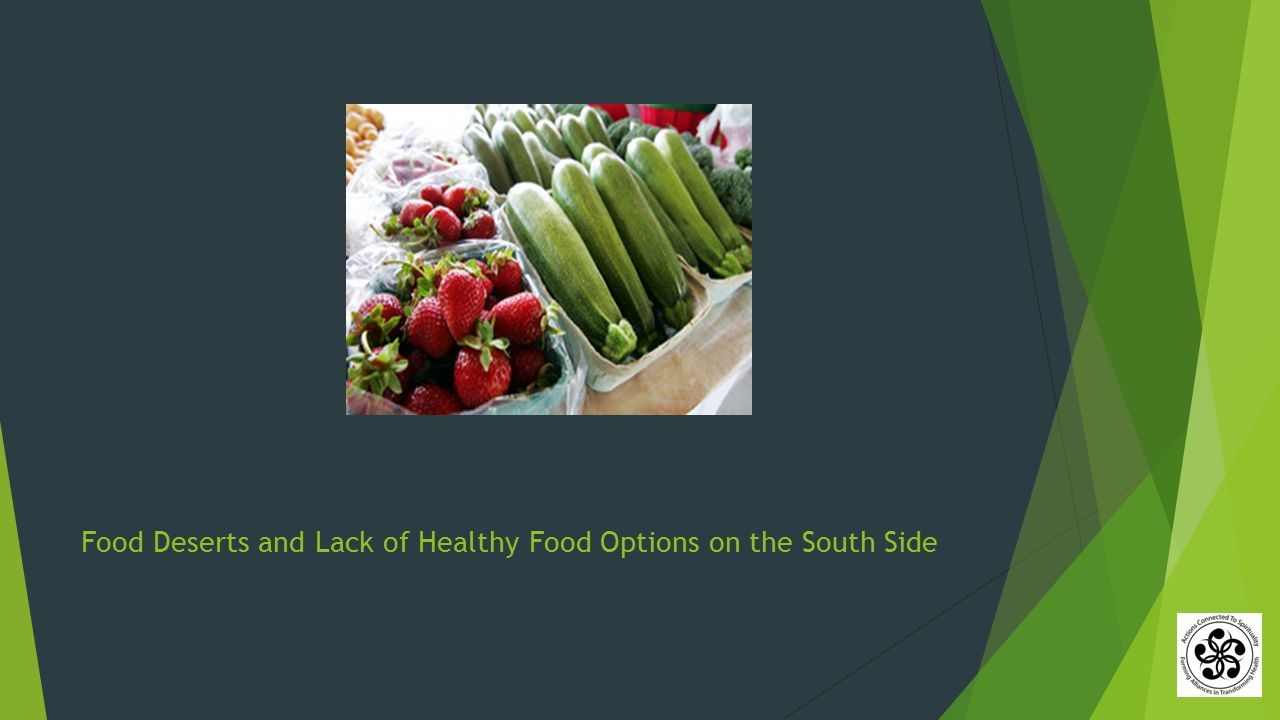 Food Deserts and Lack of Healthy Food Options on the South Side