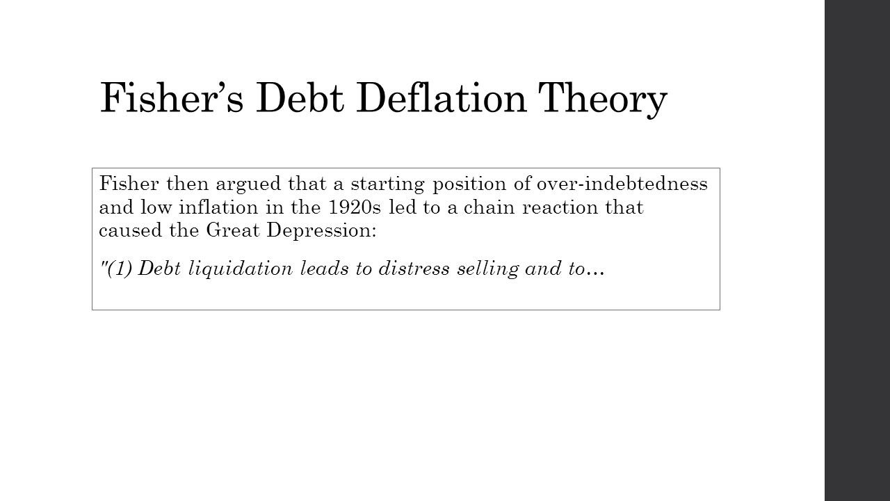 fisher\u0027s theory of debt deflation irving fisher, multi millionaire9 fisher\u0027s debt deflation theory