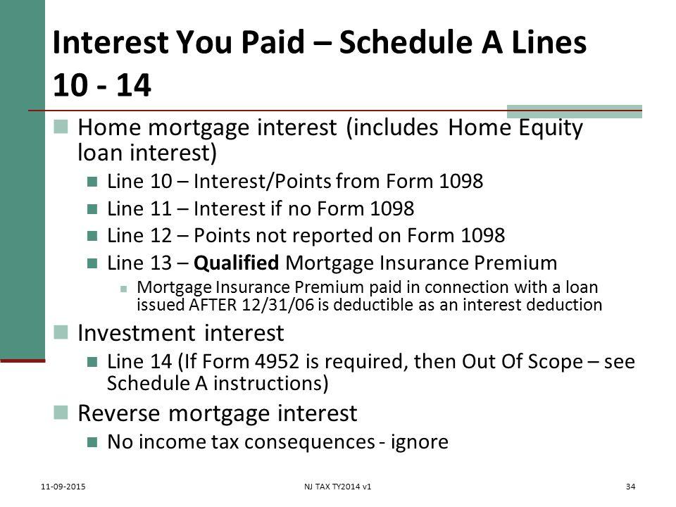 Itemized Deductions Nj Property Tax Deduction Credit Pub 4012 Tab