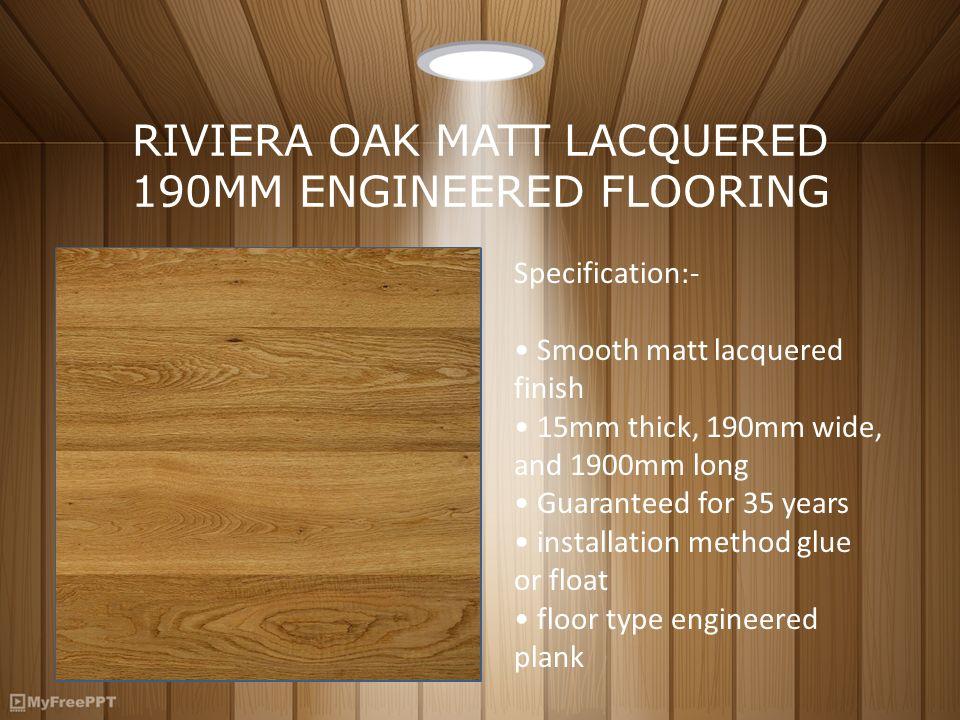 Engineered Oak Flooring