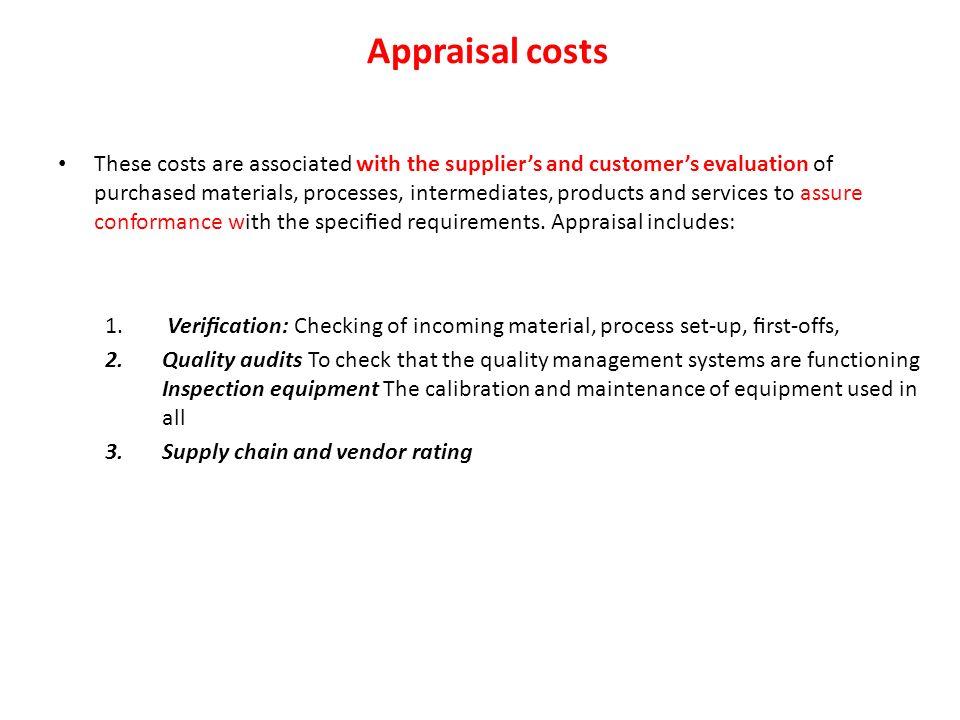 vendor rating process