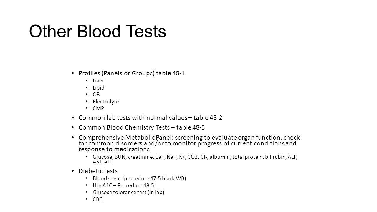 Lab Procedures Chapter 47: Venipuncture and Blood Collection