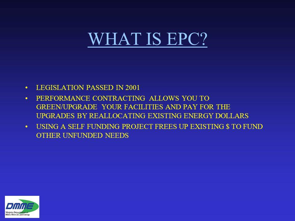 What Is Epc >> Energy Performance Contracting Epc April 26 2016 Roanoke
