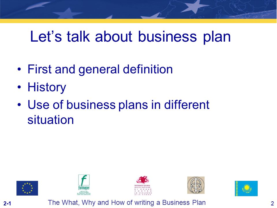 guida al business plan formaper