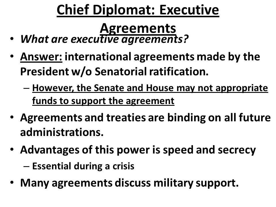 Executive Branch Quick Questions What Does The Executive Branch Do