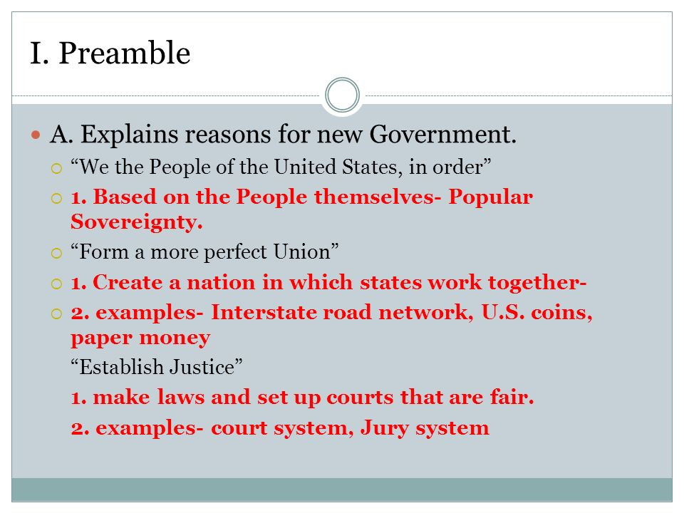 Preamble Principles Constitution B Seven Principles Of The