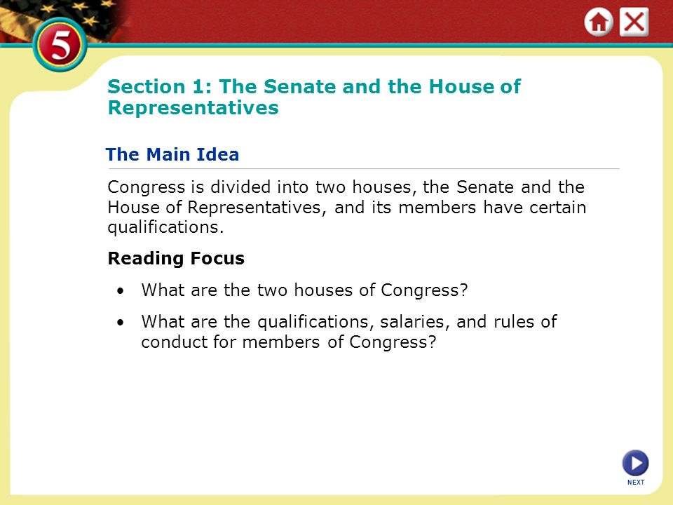 the role of the senate and house The senate the senate is one of the two houses of the federal parliament, the other being the house of representatives democratically elected, and with full legislative power, it is generally considered to be, apart from the senate of the united states of america, the most powerful legislative upper chamber in the world.