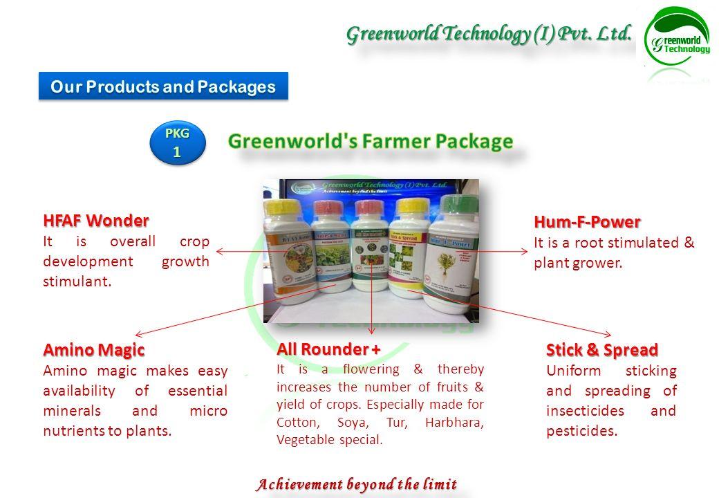 Achievement Beyond The Limit Greenworld Technology I Pvt Ltd