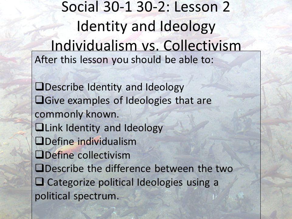 define individualism