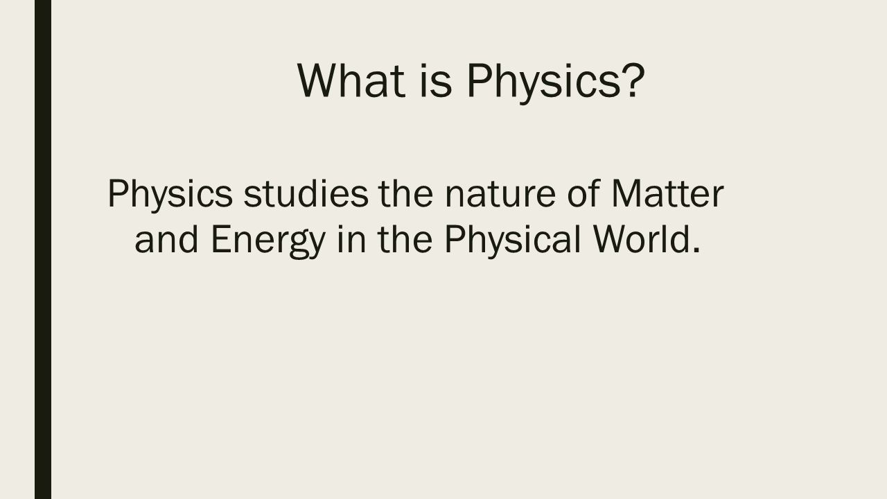 AP PHYSICS 1 SUMMER PACKET Table of Contents 1 What is