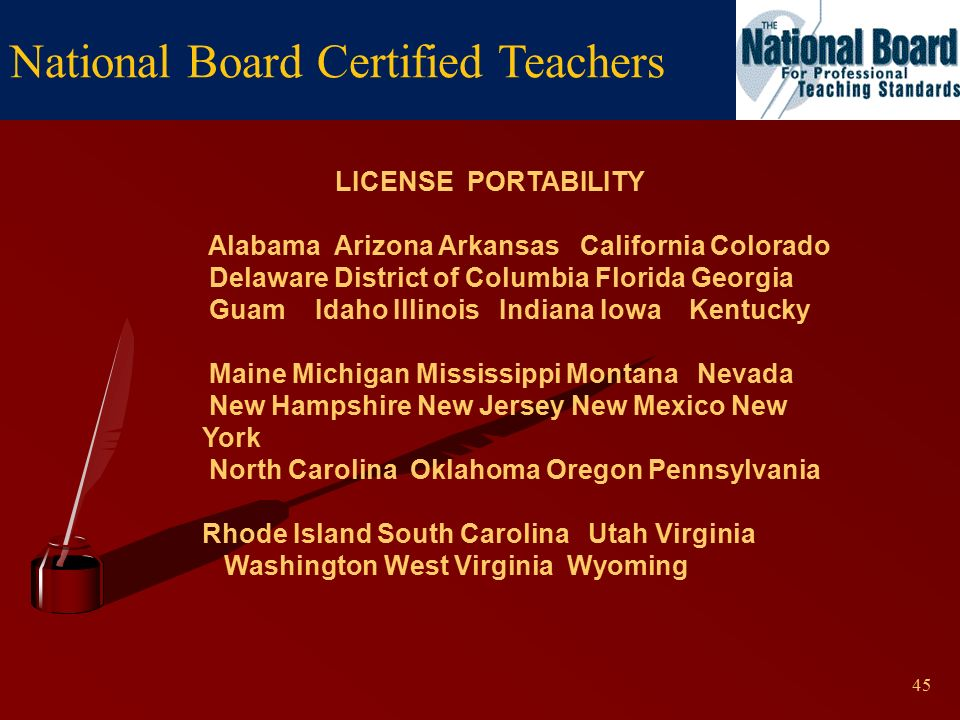 national board certified teachers a distinction that matters