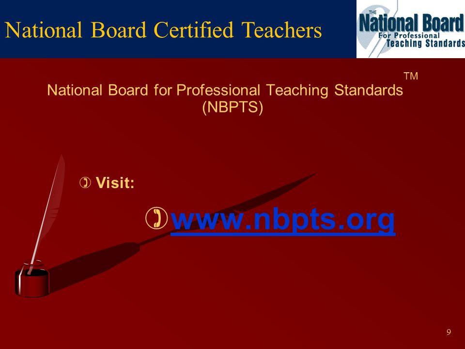 National Board Certified Teachers A Distinction That Matters