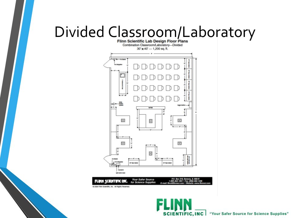 How to Design a Safe and Efficient Science Laboratory  - ppt