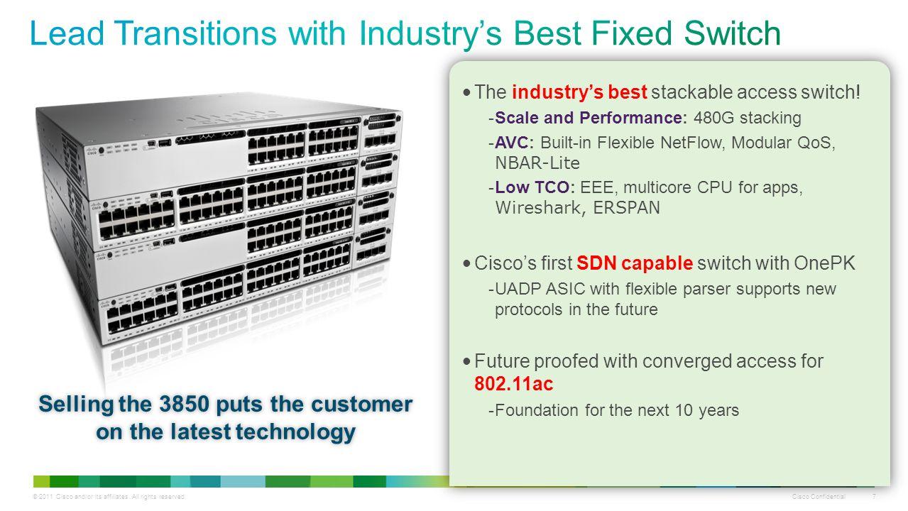 Cisco Confidential 1 © 2011 Cisco and/or its affiliates  All