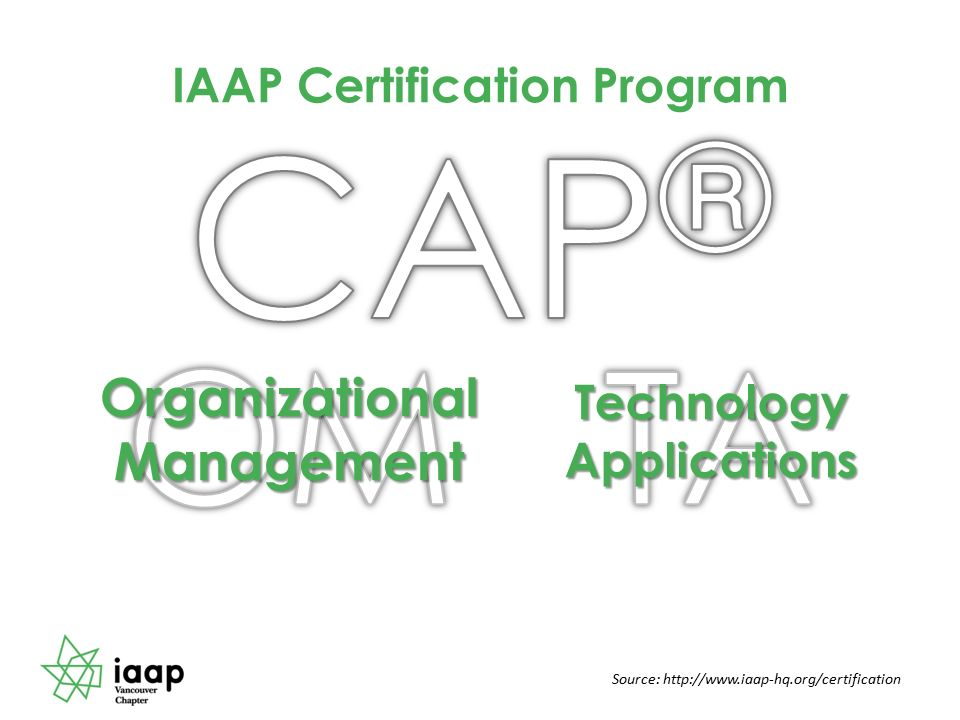 Professional Certification The Career Advantage Kim Perry Cap Om