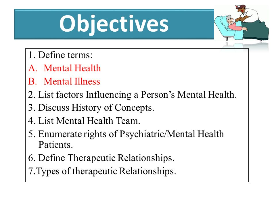 Introduction To Mental Health Nursing Part 1 Ppt Download
