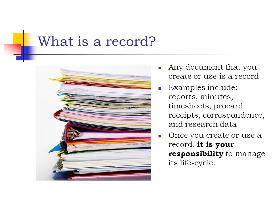Records management policy template 15 best document management.