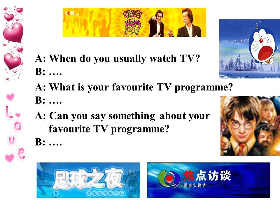 favourite tv programme