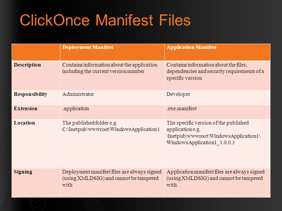 WIN309 – Using ClickOnce and XAML Browser Applications