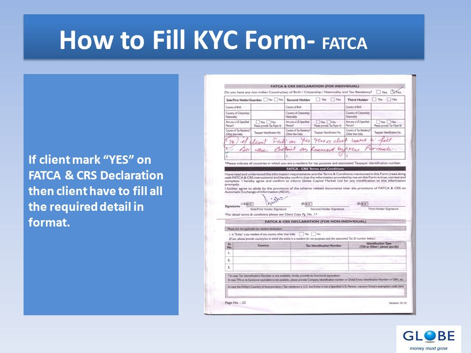 "Welcome to Globe KYC Department  What is KYC ""KYC (Know Your"