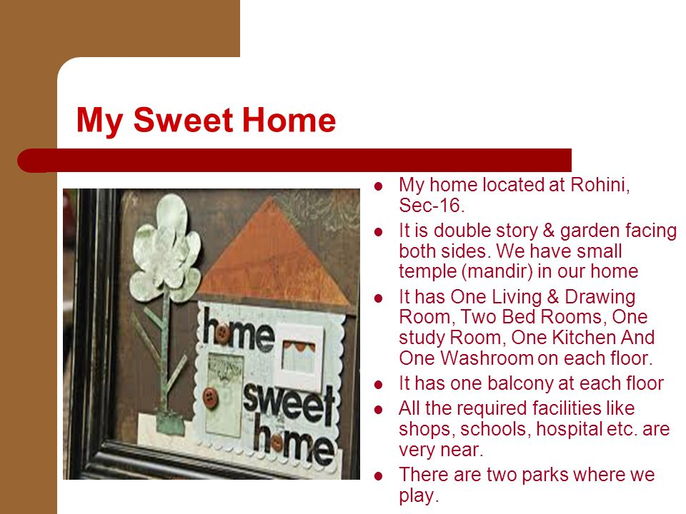 My Sweet Home My Home Located At Rohini Sec 16 It Is Double Story