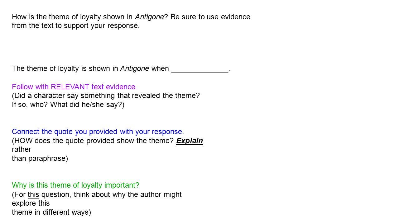 antigone theme analysis