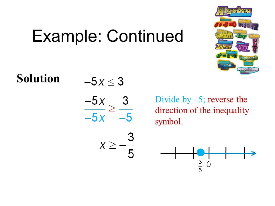 Algebra 2 Solving Inequalities Lesson 1 5 Part Ppt Download