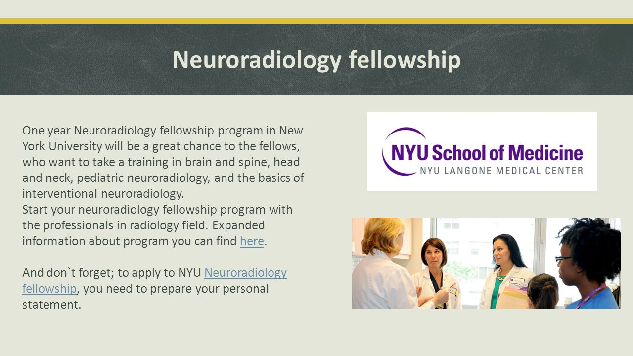 What are the best radiology fellowship programs today? - ppt download