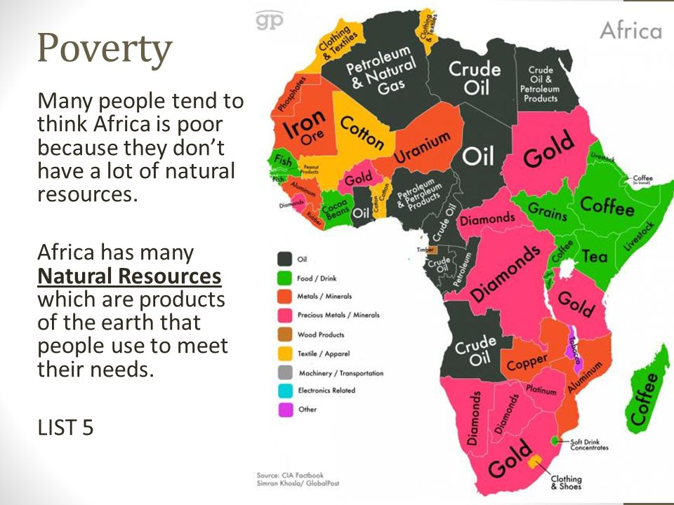 Map Of Africa Natural Resources.Global Issues In Africa And Around The World Continent Of Extremes