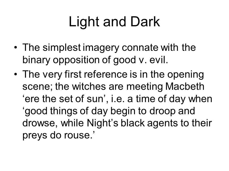 imagery in macbeth