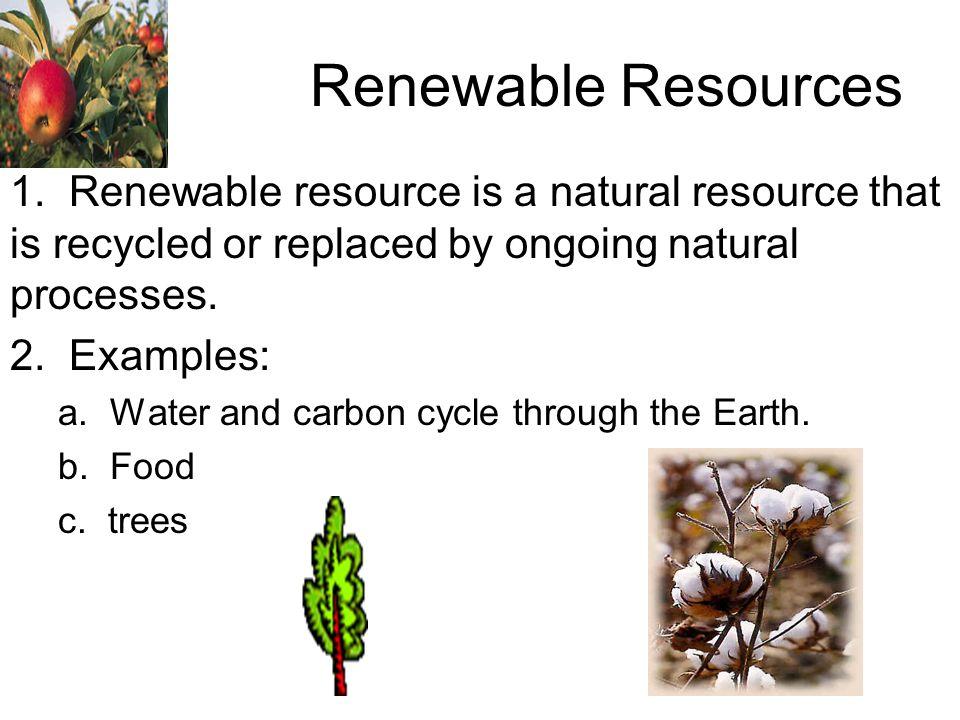 renewable resources 1