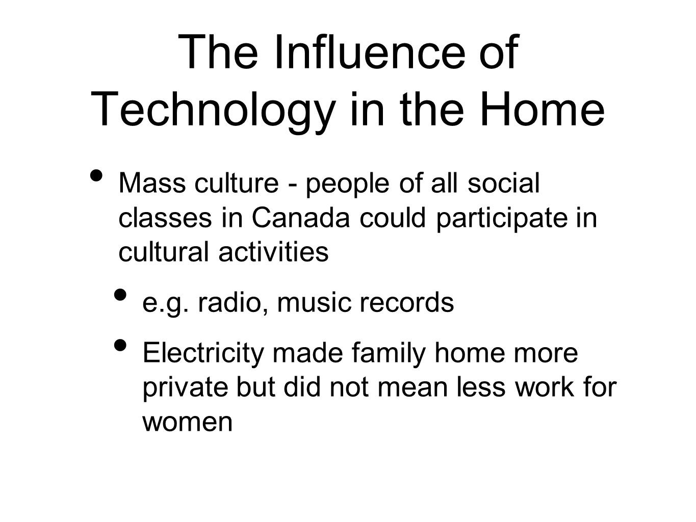 the influence of technology on peoples lives Influence of technology on our lives as technology progressed over time, humans became increasingly dependent on computers a computer is a programmable machine that responds on.