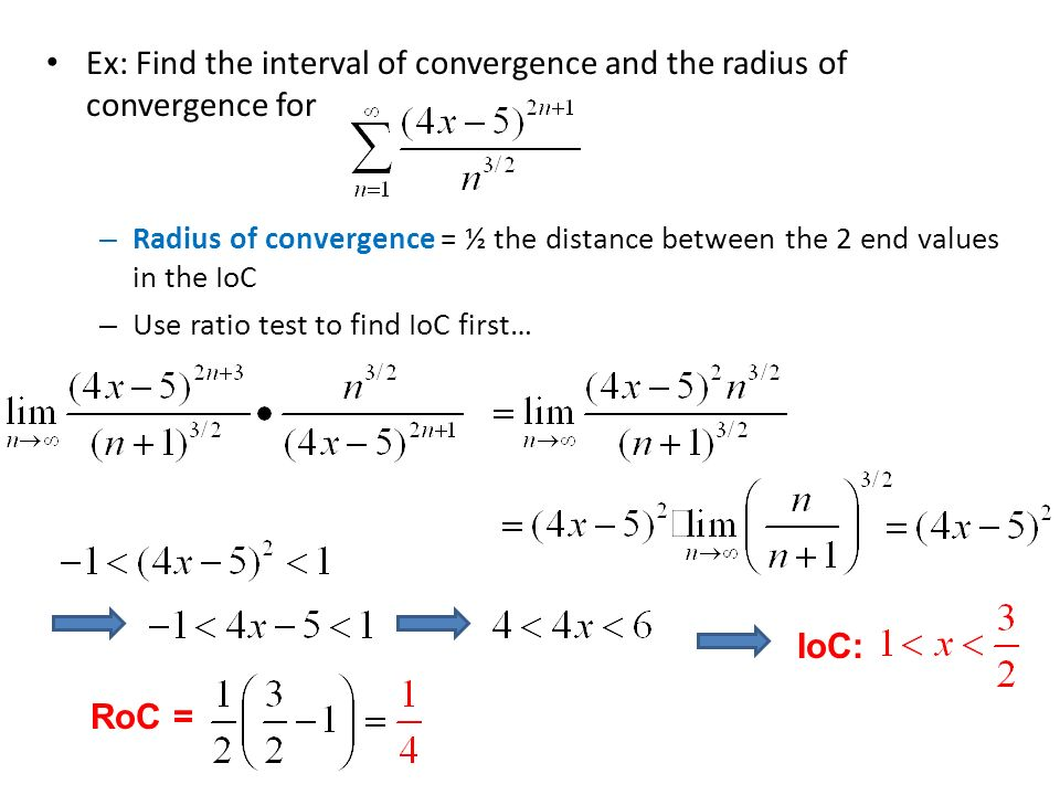 Ch  10 – Infinite Series 10 4 – Radius of Convergence  - ppt download