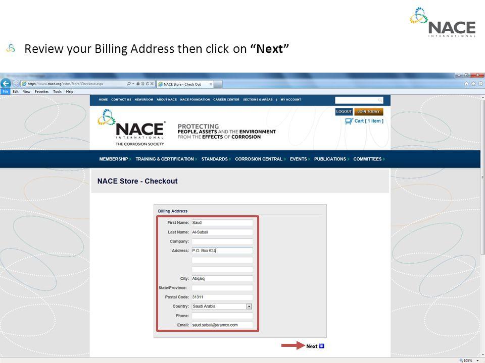 How To Renew Your NACE Membership Ahmad S  Al-Omari NACE