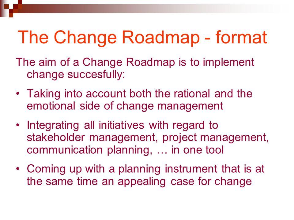 change management session 6 planning implementation the change