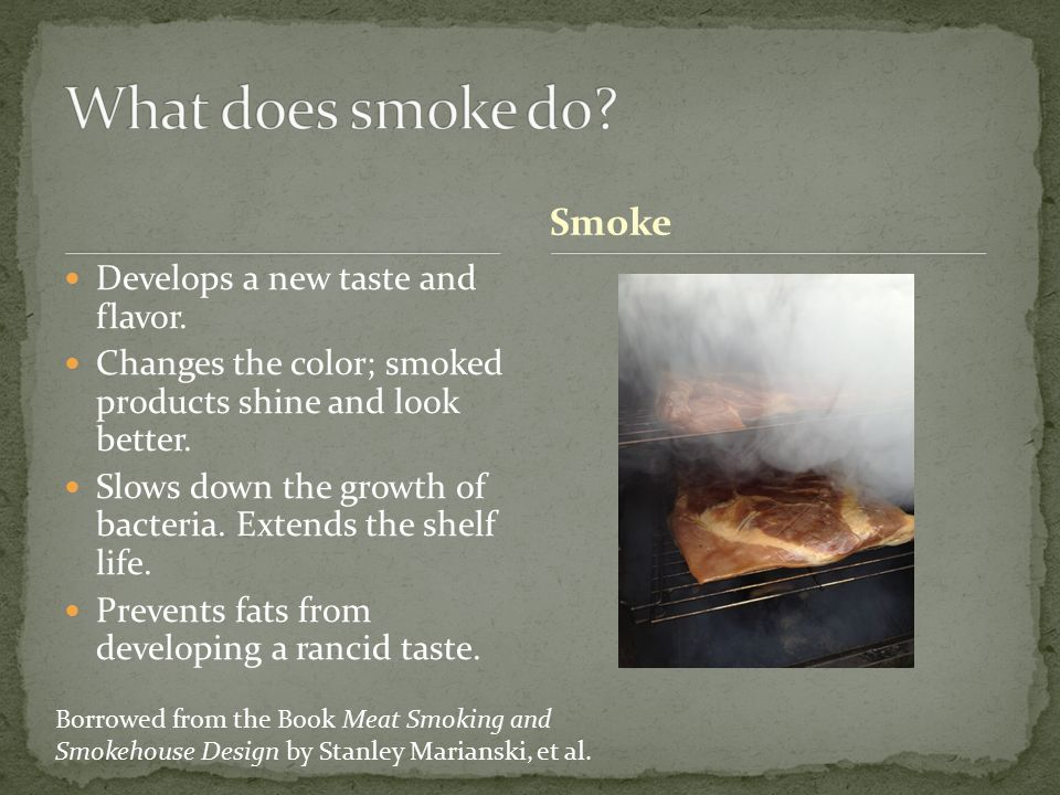 The Use Of Smoke Salt As A Cure Owner And Cook Ppt Download