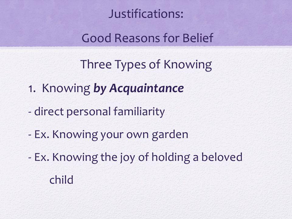 Good Acquaintance