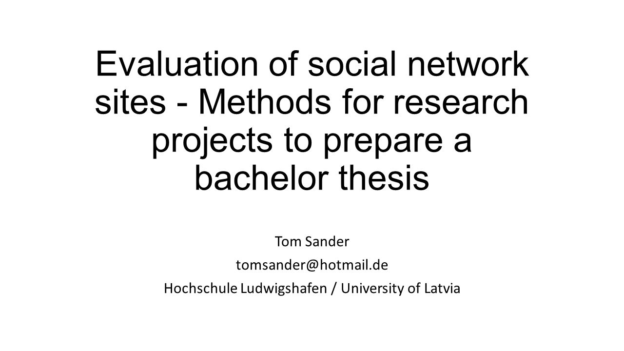 hochschule ludwigshafen bachelor thesis