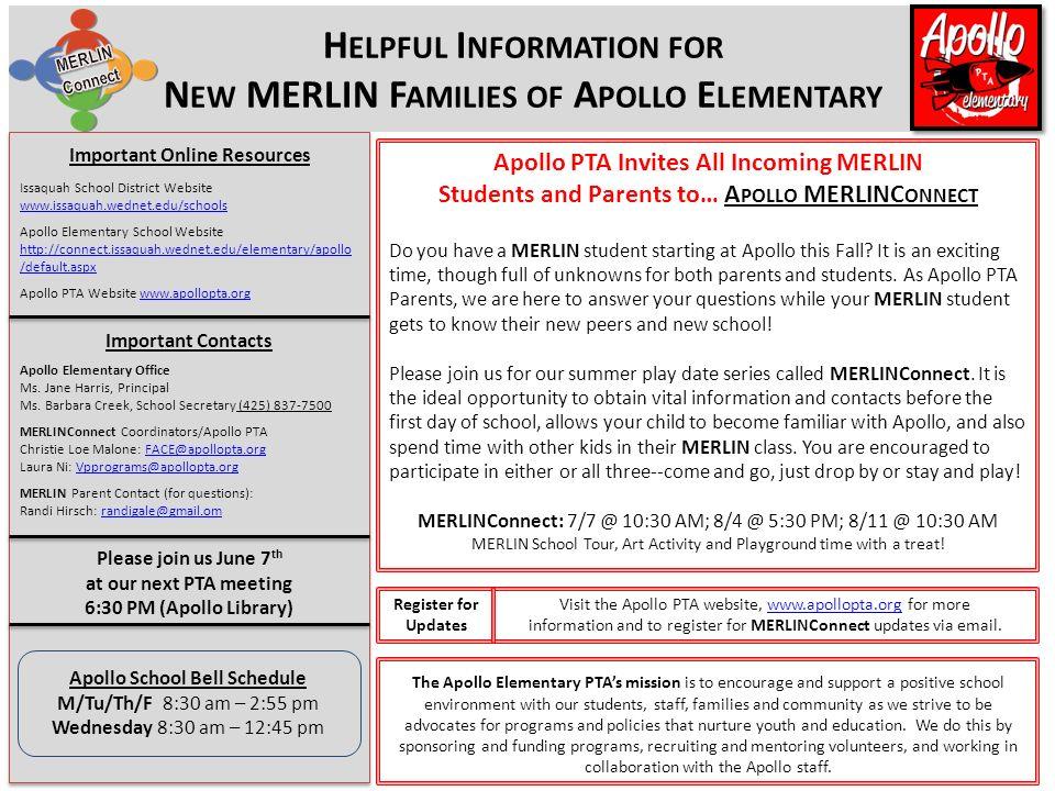 Important Online Resources Issaquah School District Website Apollo