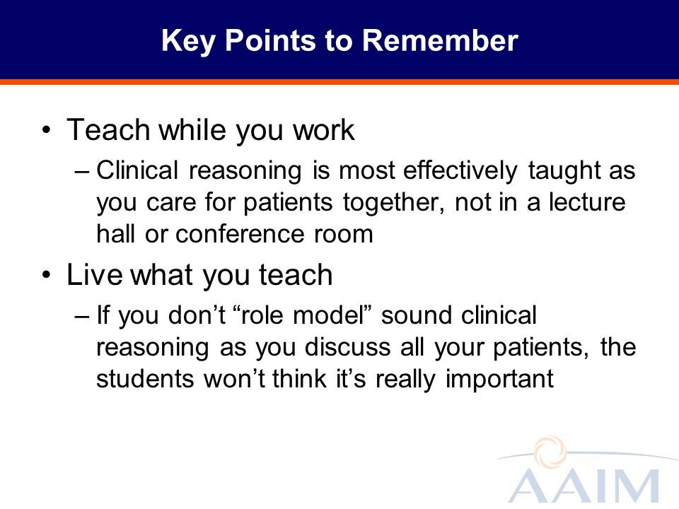 """Teaching Clinical Reasoning """"On the Fly"""" Part 1 Donald R"""