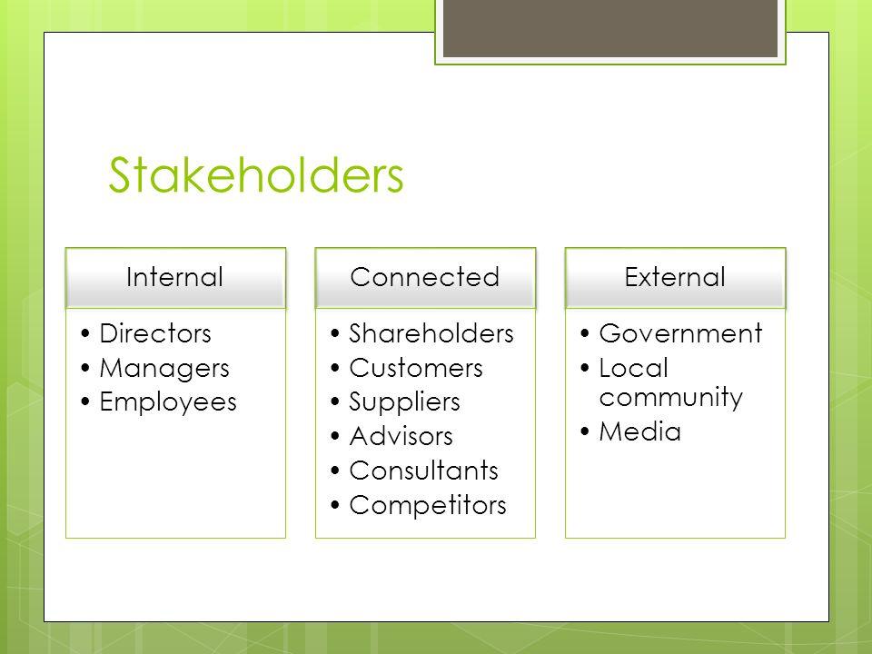toyota stakeholders