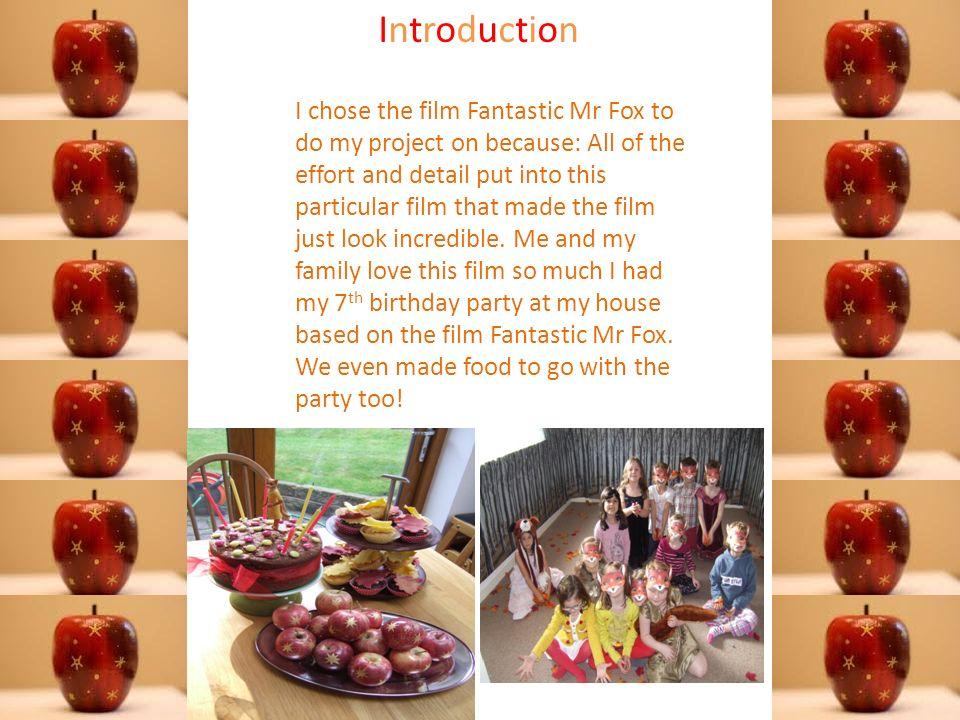 Fantastic Mr Fox Presentation Shown And Written By Orla Egleston Ppt Download