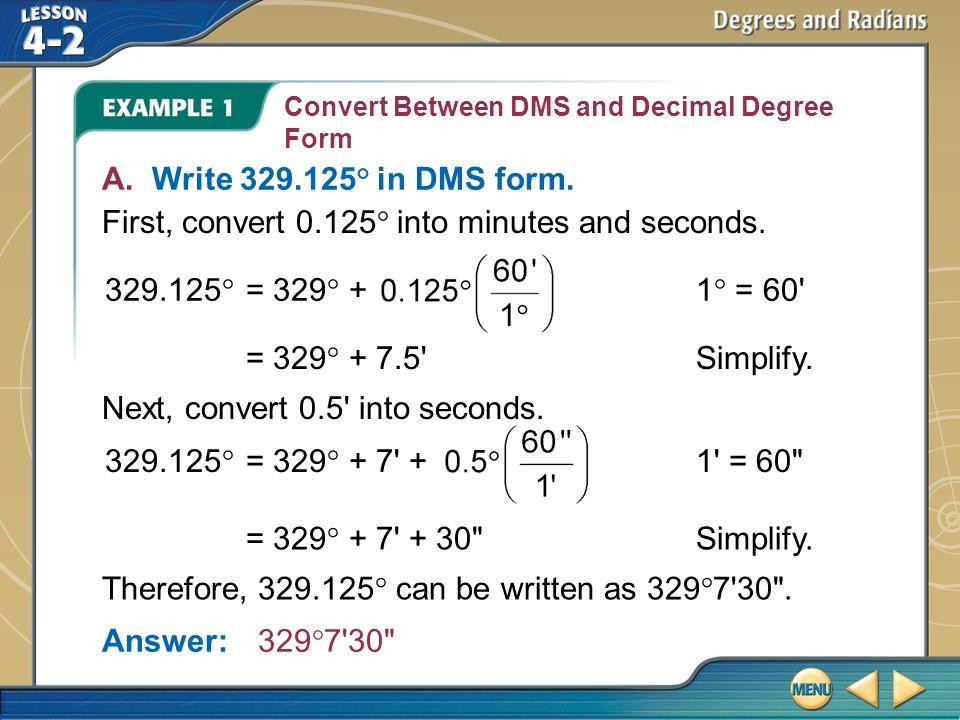Splash Screen  Lesson Menu Five-Minute Check (over Lesson 4