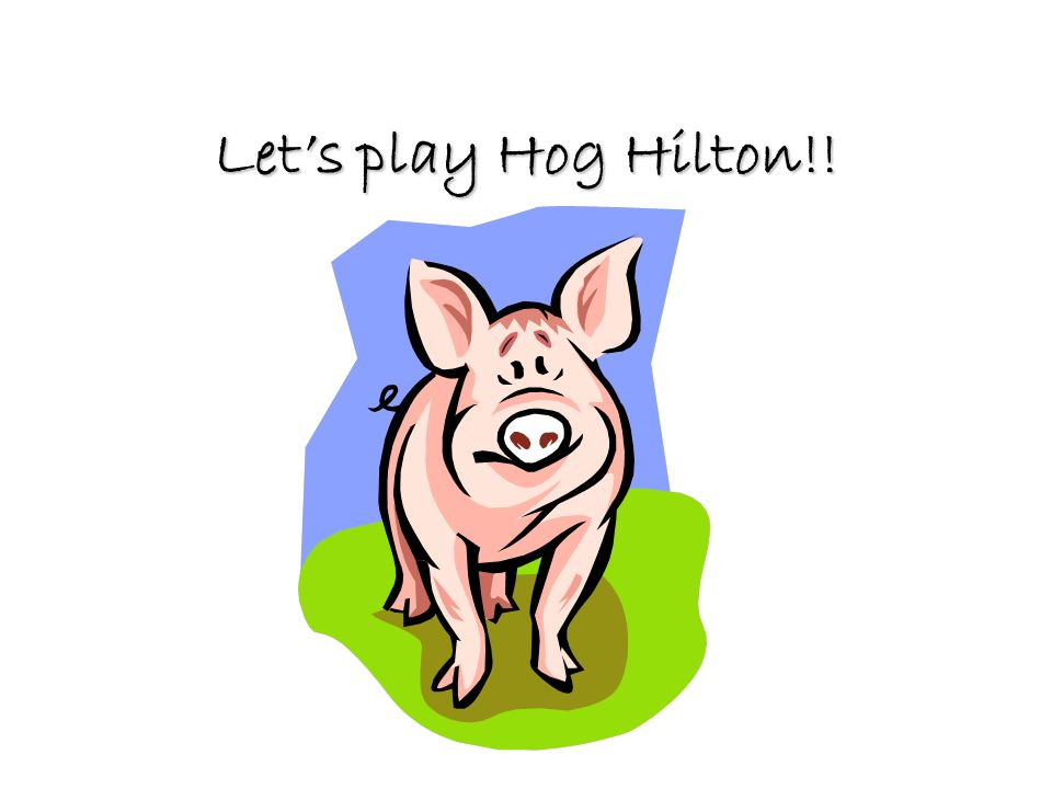 hog hilton activity answer key