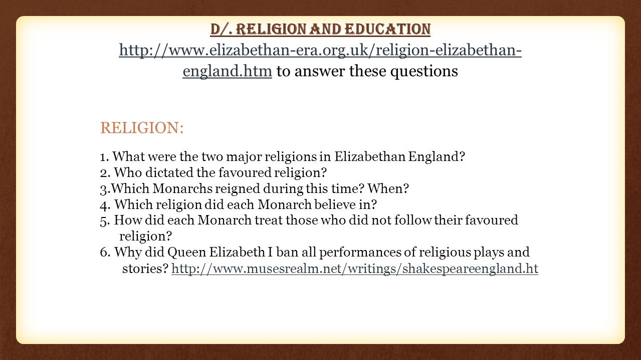 why did queen elizabeth ban all religious plays