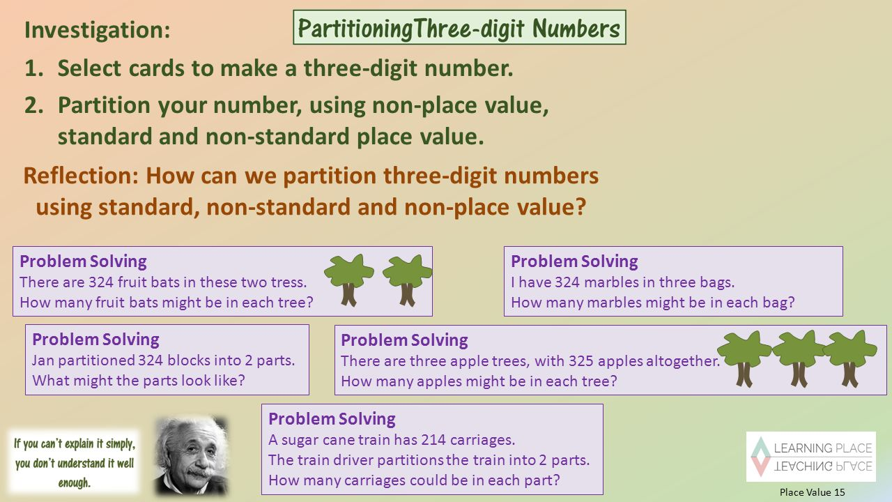 Exelent Non Standard Partitioning In Maths Worksheets Ideas - Math ...